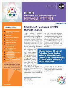 Monthly Newsletter Templates Monthly Human Resources Newsletter Example Templates At