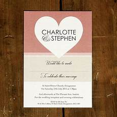 Heart Images For Wedding Invitations Big Love Heart Wedding Invitation Stationery By Feel Good