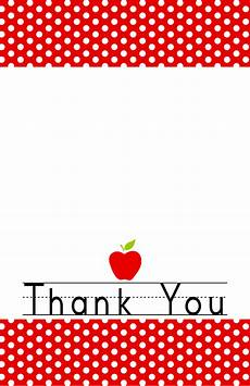 Thank You Cards To Print Free Free Printable End Of The Year Thank You Cards And Tags