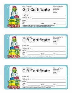 Movie Gift Certificate Template 2020 Gift Certificate Form Fillable Printable Pdf