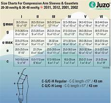 Sleeve Measurement Chart Juzo Soft Compression Arm Sleeve With Silicone Border