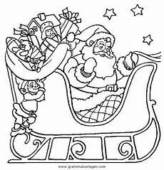 Malvorlage Weihnachtsmann Schlitten Weihnachtsmanner Schlitten 13 Gratis Malvorlage In