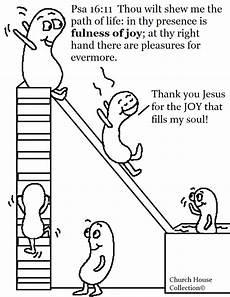 Sunday School Printables Church House Collection Blog Jelly Bean Psalms 16 11
