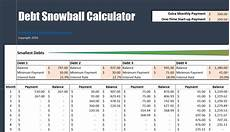 Debt Snowball Calculator Free Debt Snowball Calculator How Soon Could You Be Debt