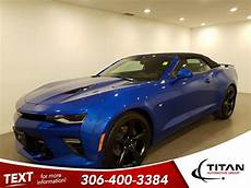 Light Blue Camaro 2017 Pre Owned 2017 Chevrolet Camaro 2ss Convertible Hyper Blue