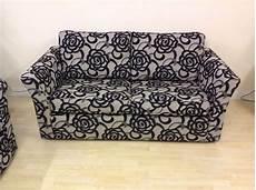 floral pattern sofa 2 seater floral design new black