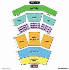Wolf Trap Seating Chart Seat Numbers Wolf Trap Seating Chart Seating Charts Amp Tickets