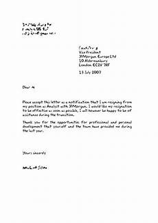Resignation Letter It Professional How To Write Up A Resignation Letter Vision Professional