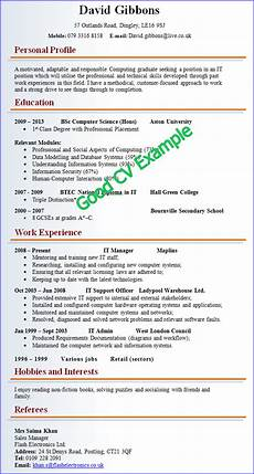 How To Complete A Resume Cv Resume Template Google Search Good Cv Good Resume