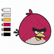 Angry Bird Designs Angry Birds Embroidery Design 03