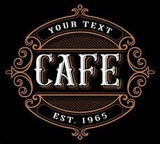 Cafe Logo Design Free Cafe Logo Design Download Free Vectors Clipart
