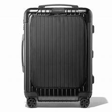 essential sleeve cabin suitcase black rimowa