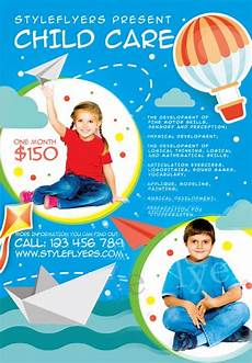 Free Daycare Flyer Templates Child Care Free Flyer Template Download For Photoshop