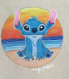 prisma colored pencils drawing of stitch by frazier
