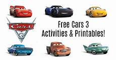 Free Cars Printables Get Your Free Cars 3 Activities Amp Printables Here I Am