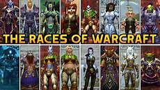 Wow Races And Classes Chart All 23 Racial Intros In World Of Warcraft Allied Races