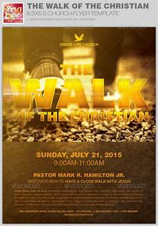 Christian Flyer Templates Free The Walk Of The Christian Church Flyer Template By