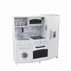 Kidkraft Large Play Kitchen With Lights And Sounds White Playset Kidkraft Barnk 246 K Large Play Kitchen Med Ljud Och Ljus