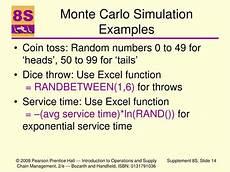 Monte Carlo Simulation Basics Ppt Advance Waiting Line Theory And Simulation Modeling