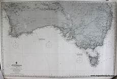 Antique Charts Australia Southern Portion Sold Antique Maps And