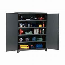 edsal heavy duty storage cabinet 60in w x 24in d x