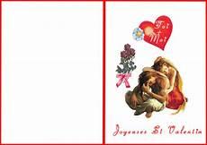 Cartes St Valentin Carte St Valentin