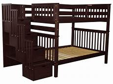 bedz king stairway bunk beds with 4 drawers