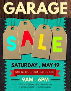 Garage Sale Flyers Examples Copy Of Garage Sale Flyer Postermywall