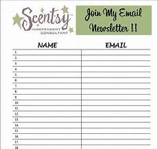 Email List Signup Sheet 9 Best Photos Of Email Sign Up List Template Email List