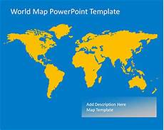 World Map Powerpoint Template Free Global Powerpoint Templates