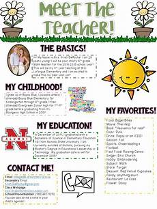 Examples Of Newsletters For Parents From Teachers Meet The Teacher Newsletter Editable Spring Theme