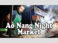 Ao Nang Night Market, Ao Nang Krabi Thailand. Thai Street