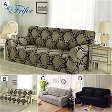 armless universal stretch sofa covers elastic spandex sofa