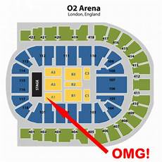 Floor Plan O2 Arena Win One Direction Second Row Take Me Home Ticket Pop