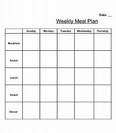 Weekly Dinner Schedule 13 Printable Weekly Calendar Templates Free Sample