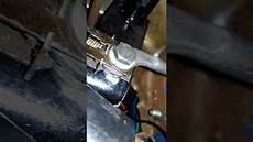1989 Jeep Wrangler Brake Light Switch Jeep Yj Brake Light Switch Youtube