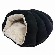 sleep zone specialty beds cuddler cave black s pet