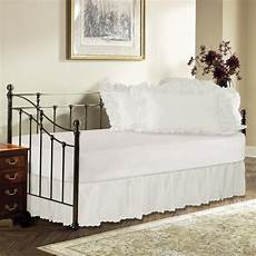 day bed eyelet ruffled bed skirt shopbedding