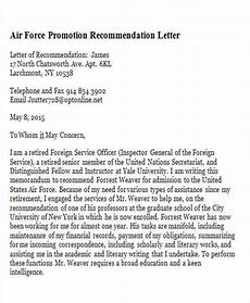 Air Force Letter Of Recommendation For Special Duty Assignment Air Force Letter Of Recommendation New 11 Sample Promotion