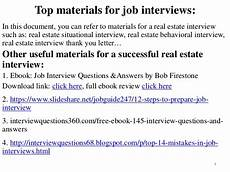Real Estate Interview Questions 96 Real Estate Interview Questions And Answers