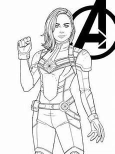 Malvorlagen Superhelden Quest N De 5 Ausmalbilder Captain Marvel