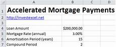 How To Calculate Mortgage Payment In Excel How To Calculate Accelerated Mortgage Payments In Excel