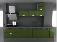 Green kitchen cabinet 3d model 3dsMax files free download   modeling 16328 on CadNav
