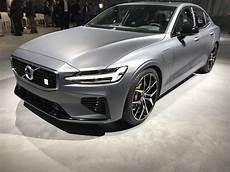 2019 volvo s60 polestar 2019 volvo s60 t8 polestar unveiled today as volvo