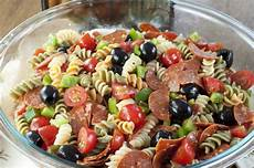 Recipes For Pasta Salad Classic Italian Pasta Salad Wishes And Dishes