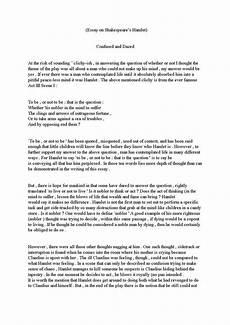 A Good Essay Examples How To Write A Drama Essay