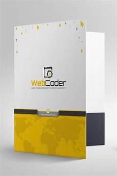 Certificate Folder Design Presentation Folder File Holder Corporate Identity