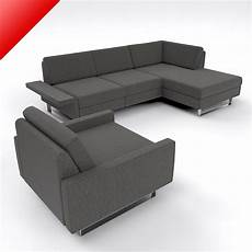 Convertible Sectional Sofa 3d Image by 3d Conseta Modular Sofa Set