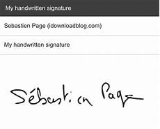 Handwritten Signature How To Create A Handwritten Email Signature On Iphone