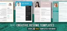 Creative Resumes Templates Free Creative Resume Templates Get The Job You Deserve